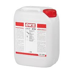 Hochleistungs - ulei lubrifiant cu lubrifianti uscati alb OKS 670 / 671*